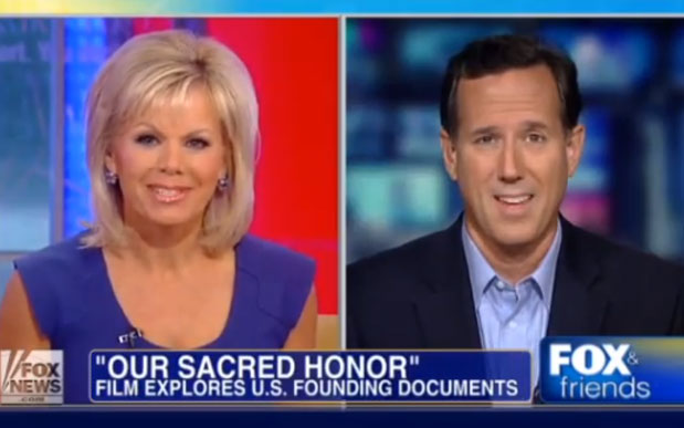 Our Sacred Honor Senator Santorum on Fox & Friends